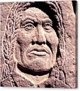 Chief-gall Canvas Print