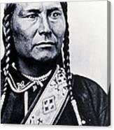Chief Joseph Nez Perce Leader Canvas Print
