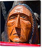 Chief Looking Canvas Print