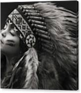 Chief Of Her Dreams Canvas Print