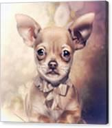Chihuahua Puppy Canvas Print