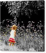 Inquisitive Child Canvas Print
