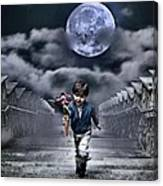 Child Of The Moon Canvas Print