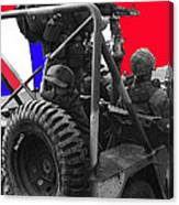 child soldier 100th anniversary parade nogales Arizona 1980-2012 Canvas Print