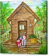 Childhood Retreat Canvas Print