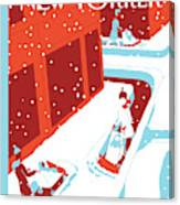 Snowplows Canvas Print