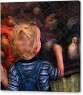 Children - Look At The Baby Canvas Print