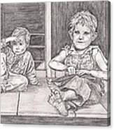 Children Of The Appalachians Canvas Print