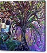 Children Under The Fantasy Tree With Jackie Joyner-kersee Canvas Print