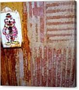 Children's Ward Clown Light Switch Canvas Print