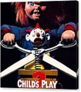 Childs Play 2  Canvas Print