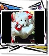 Child's Teddy Bear Canvas Print