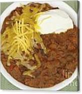 Chili Con Carne Canvas Print