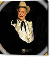 Chill Wills Old Tucson Arizona 1971-2008 Canvas Print