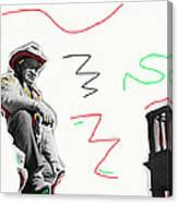 Chill Wills The Alamo Homage 1960 Canvas Print