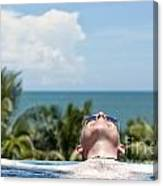 Chilled In Paradise Canvas Print