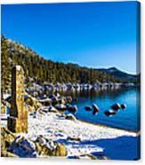 Chimney Beach - Lake Tahoe Canvas Print