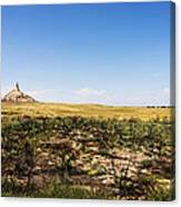 Chimney Rock - Bayard Nebraska Canvas Print