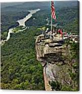 Chimney Rock Overlook Canvas Print