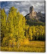 Chimney Rock San Juan Nf Colorado Img 9722 Canvas Print