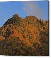 Chimney Tops In Smoky Mountains Canvas Print