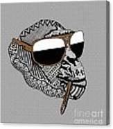 Chimp 6 Canvas Print