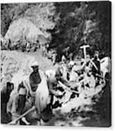 China Burma Road, 1944 Canvas Print