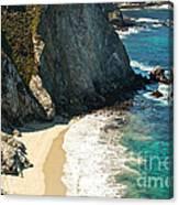 China Cove At Point Lobos State Beach Canvas Print