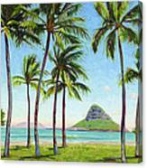 Chinamans Hat - Oahu Canvas Print