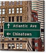 Chinatown Boston Canvas Print