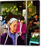 Chinatown Marketplace Canvas Print