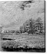 Chincoteague Island Infrared Pano Canvas Print