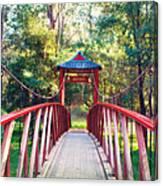 Chinese Bridge Wandiligong Canvas Print
