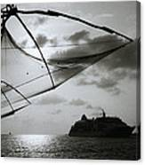 Approaching Cochin Canvas Print