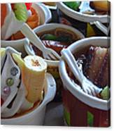 Chinese Food Miniatures 3 Canvas Print