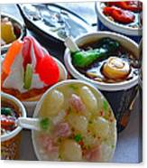 Chinese Food Miniatures 4 Canvas Print