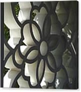 Chinese Garden Window Canvas Print
