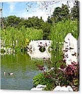 Chinese Gardens Canvas Print