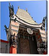 Chinese Theatre In Hollywood Canvas Print