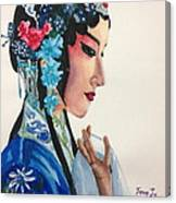 Chinese Traditional Beauty Canvas Print