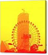 Chinese Wonder Wheel Canvas Print