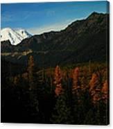 Chinnock Pass From Masatchee Falls Canvas Print
