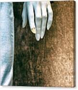 Chipped A Nail Canvas Print