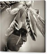 Chippewa Indian Dancer Canvas Print