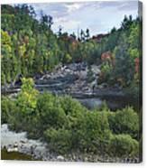 Chippewa River Ontario Canada Canvas Print