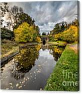 Chirk Canal Canvas Print