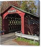 Chiselville Covered Bridge Canvas Print