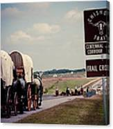Chisholm Trail Centennial Cattle Drive Canvas Print