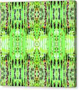 Chive Abstract Green Canvas Print