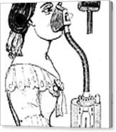 Chloroform Inhaler, 1858 Canvas Print